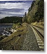 Teddy Bear Cove Railway Metal Print