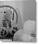 Teddy Metal Print by Bobby Mandal