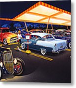 Teds Drive-in Metal Print