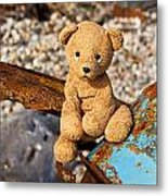 Ted's On The Rust Pile Metal Print
