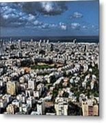 Tel Aviv Center Metal Print by Ron Shoshani