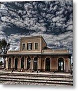 Tel Aviv First Railway Station Metal Print by Ron Shoshani