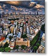 Tel Aviv Lookout Metal Print