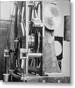 Telescope Clock, Sydney Observatory Metal Print by Science Photo Library