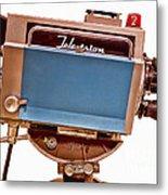 Television Studio Camera Hdr Metal Print