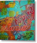 tell me what I want to hear Metal Print