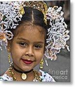 Tembleque Headdress Metal Print