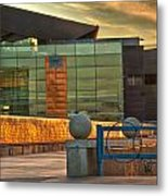 Tempe Center For The Arts Sunset Metal Print