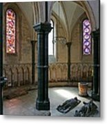 Templar Knights Temple Church London Metal Print