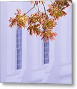 Temple Accent Metal Print