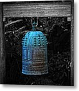 Temple Bell - Buddhist Photography By William Patrick And Sharon Cummings  Metal Print