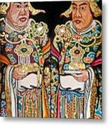 Temple Doors 01 Metal Print