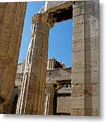 Temple Maze Of Columns Metal Print