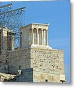 Temple Of Athena Nike Metal Print