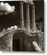 Temple Of Castor And Polux Metal Print