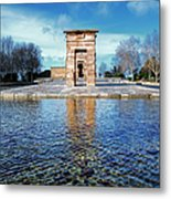 Temple Of Debod Metal Print