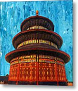 Temple Of Heaven Metal Print