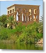 Temple Of Isis Among The Trees Metal Print