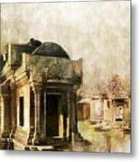 Temple Of Preah Vihear Metal Print