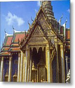 Temple Of The Emerald Buddha Metal Print