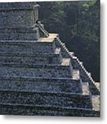 Temple Of The Inscriptions. Mexico Metal Print