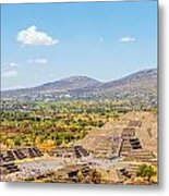 Temple Of The Moon Metal Print