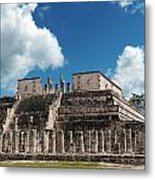 Temple Of The Warriors Metal Print