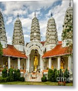 Temple Towers Metal Print