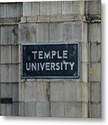 Temple U Metal Print