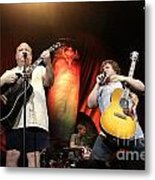 Tenacious D - Kyle Gas And Jack Black Metal Print