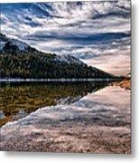 Tenaya Lake Reflections Metal Print