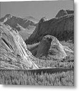 6m6552-bw-tenaya Lake Yosemite Bw  Metal Print