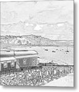Tenby Old Lifeboat Station Metal Print