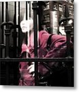 Tended To The Bar Metal Print