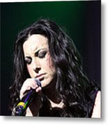 Tender Moments On Stage Metal Print