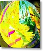 Tenderness And Desire Connect Metal Print