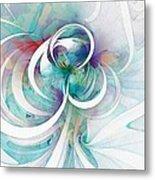 Tendrils 03 Metal Print by Amanda Moore