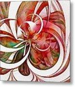 Tendrils 05 Metal Print by Amanda Moore