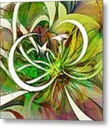 Tendrils 15 Metal Print by Amanda Moore