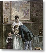 Tenement: Doctor, 1889 Metal Print