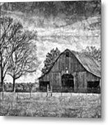 Tennessee Barn Metal Print