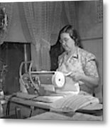 Tennessee Farm Wife, 1942 Metal Print by Granger
