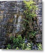 Tennessee Limestone Layer Deposits Metal Print