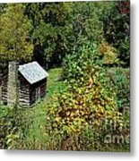 Tennessee Mountain Cabin Metal Print