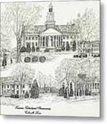 Tennessee Technological University Metal Print
