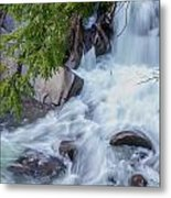 Tennessee Waterfall Metal Print