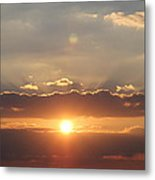 Tennessee's Point Park  Sunset Metal Print
