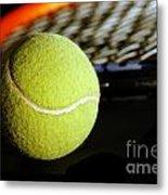Tennis Equipment Metal Print