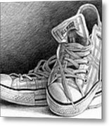 Tennis Shoes Metal Print