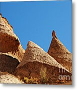 Tent Rocks Geology Metal Print